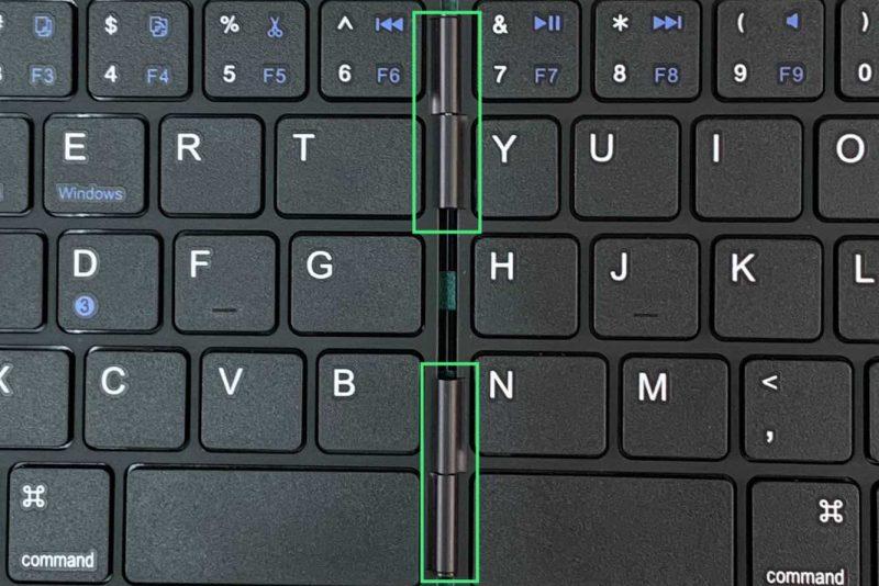 ワイヤレスキーボードの『EWIN折畳み式Bluetooth keyboard』