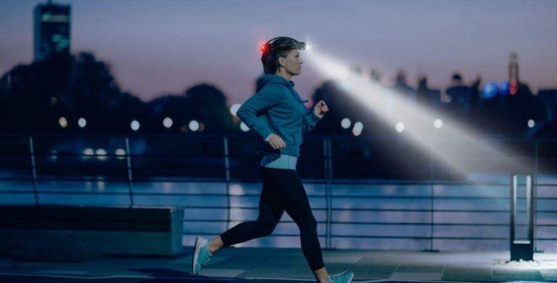 ジョギング用ライト①ヘッドライトタイプ
