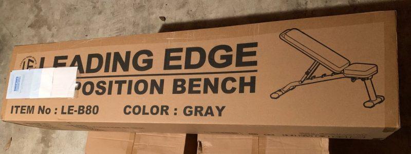 リーディングエッジのベンチを組み立ては簡単すぎる