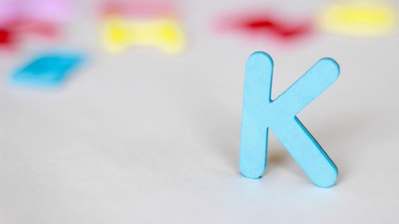 発音しないkを含む単語